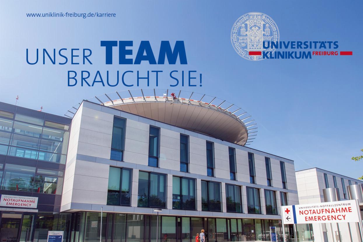 Karriereseite des Universitätsklinikums Freiburg